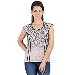 Y & I Polyester Cotton Top-YIWT15044