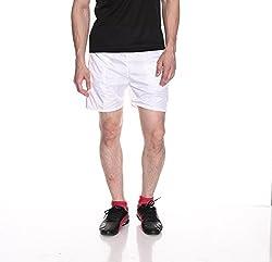 Fizzaro Men Solid Ryon Boxer Shorts -White by Fizzaro