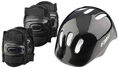 Boys' Bike Helmet and Pads Set by Riderz from Riderz