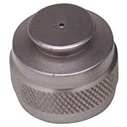 Pure Energy CO2 Tank Thread Protector Silver