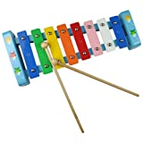 New Classic Toys 0503 Fish Xylophone (Wooden Box)