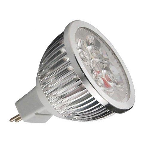 Thg 4X Energy Efficient Mr16 Day/Cool White 6W Led Ce Rohs Bulbs Spotlights Spot Light Lamp Lamps For Modern Kitchen Ceiling Bathroom Cabinet Aquarium Lighting