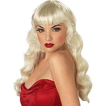 Blonde Pin-Up Girl Wig