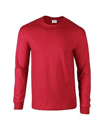 GILDAN -T-shirt  Uomo-Donna    rosso L