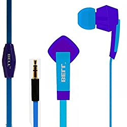Tango Series Universal BLHFK-205, 3.5mm wired ( 1.5 mm ) Headphone with MIC - Trending Tango Fashion-Samsung, Redmi, One Plus, Moto, HTC, Nokia, Tablets, Audio Players, Computers and Laptops-BELL-HS-028-Blue & Sky Blue Tango