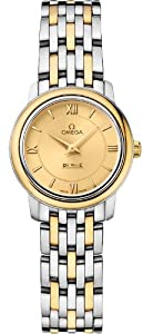 NEW OMEGA DEVILLE PRESTIGE QUARTZ LADIES WATCH 424.20.24.60.08.001
