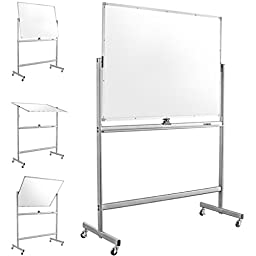 Mobile Dry Erase Magnetic Whiteboard--47\