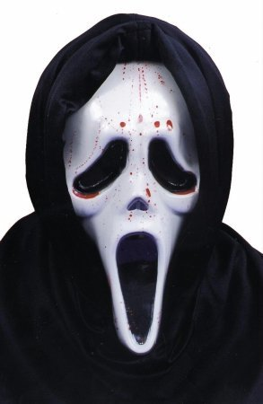 Costumes For All Occasions Ta206 Scream Mask W Blood And Pump