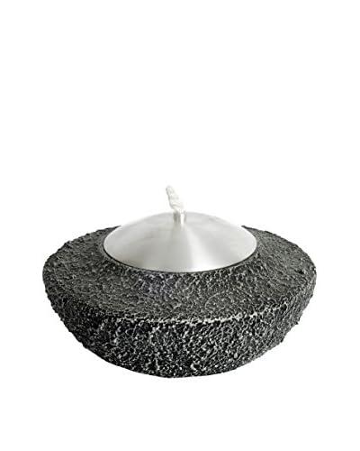 My Spirit Garden Terrazzo Garden Lamp, Charcoal