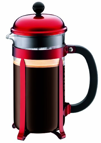 Bodum Red Chambord 8-Cup Coffee Maker
