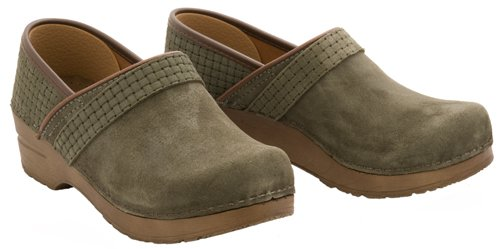 New Sanita Tanni Stone Oil Suede Ladies 37 7 $130