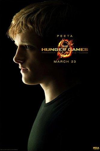 The Hunger Games - Original Movie Poster (Peeta) (Josh Hutcherson) (Size: 27