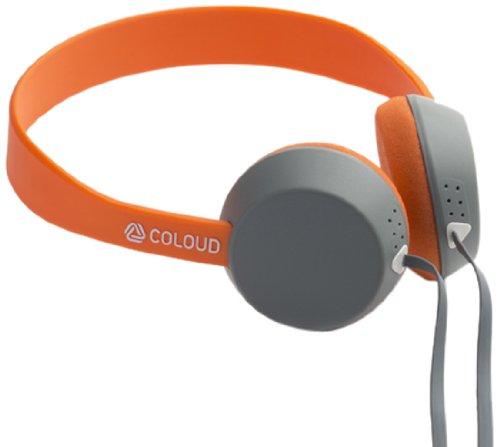 【国内正規品】 COLOUD KNOCK Blocks ヘッドフォン グレー / オレンジ 4090643