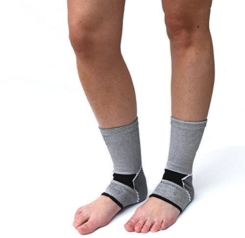 Best Yoga Shoes With Arch Support: Classic Foot Compression Sleeves (1 Pair) By Susama: Small