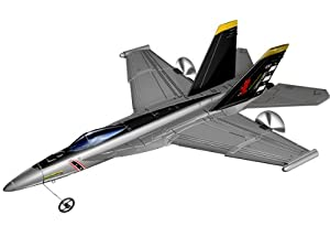 Silverlit X-Twin F18 Hornet 2-Channel Radio Control Aeroplane (Colour and Frequency Varies) by Silverlit