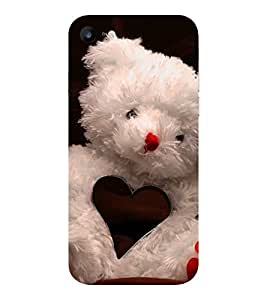 Evaluze teddy love Printed Back Cover for APPLE IPHONE 7