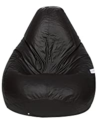Excel Bean Bags XXL Bean Bag without Beans (Brown)