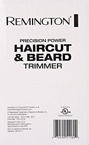 remington hc5550am precision power haircut beard trimmer hair clippers beard trimmer. Black Bedroom Furniture Sets. Home Design Ideas