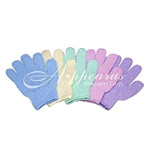 Bath & Shower Exfoliating Gloves (12 Pairs/sa3012x12)