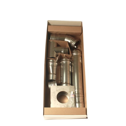 Mr Heater 4 Inch Stainless Steel Horizontal Vent Kit For