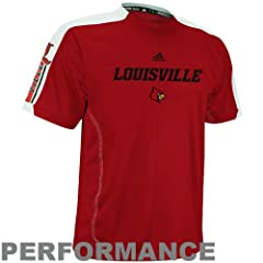 Buy adidas Louisville Cardinals Sideline Swagger Performance T-Shirt by adidas