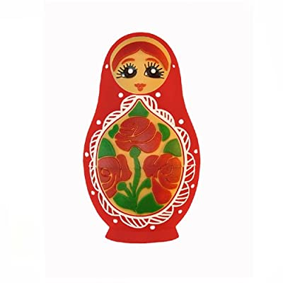 Russian Doll USB Flash Memory Drive RED