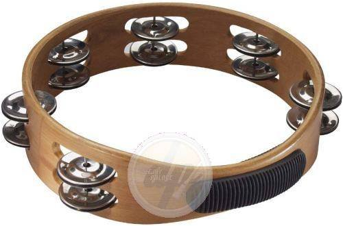 STAGG 10 TAMBOURIN BOIS 2RG