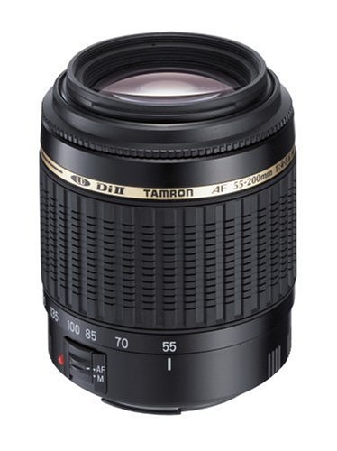 41srmyNUe9L Tamron AF 55 200mm F/4.0 5.6 Di II LD Macro Lens for Nikon Digital SLR Cameras