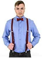 11th Doctor Matt Smith Official Replica Dr Who Red Braces/Suspenders