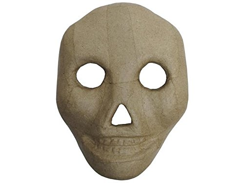 Paper Mache Mask Kid Skull by Craft Pedlars (Paper Skull Mask compare prices)