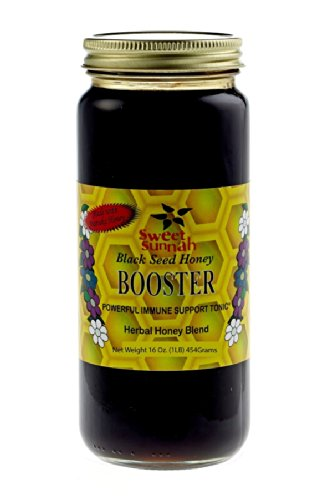 Black Seed Honey Nutritional Booster- 12 Oz.