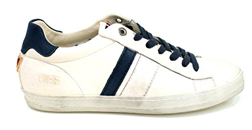 D'acquasparta Sneaker Uomo Davis Fatta a Mano Nabuk Blue-43