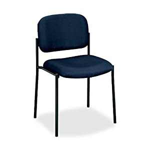 Basyx by Hon Hvl606 Guest Chair, Navy