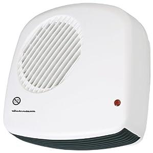 Winterwarm 2 Kw Wall Mounted Downflow Bathroom Fan Heater Kitchen Home