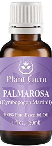 Palmarosa Essential Oil. 30 ml (1 oz) 100% Pure, Undiluted, Therapeutic Grade.