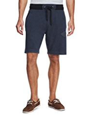 North Coast Cotton Rich Washed Shorts