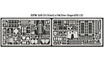 Sd.Kfz.251/10 Ausf. C avec 37mm PaK (pour la maquette Dragon DN6224)