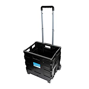 Silverline 633400 Folding Box Trolley 25 kg