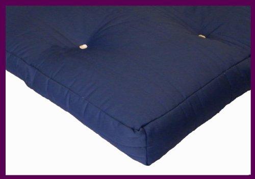 Matching Bedrooms 1 Seater Memory Futon Mattress Navy Blue
