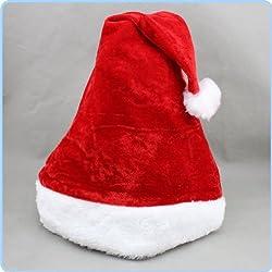 ふわふわ サンタ帽子 サンタクロース クリスマス 大人 女性 赤