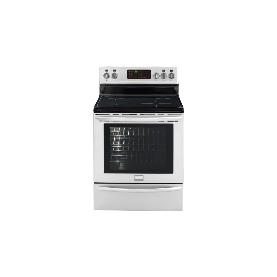 Frigidaire FGIF3061NF Gallery 30 Stainless Steel Electric Induction Range   Convection