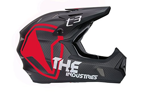 THE-Industries-Adult-T3-Carbon-Shield-BMX-and-Mountain-Bike-Helmet