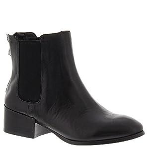 Steve Madden Women's Jodpher Boot, Black Leather, 9 M US