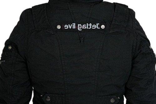 Jet Lag Womens Parka Womens Jacket winter Jacket SW61 black XXL