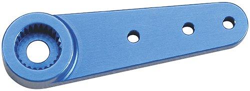"Futaba Single Aluminium Horn, Blue, 1"" - 1"