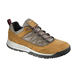 Salomon 2015/16 Men\'s Instinct Travel Shoes - L37839400 (Rawhide Leather/Navajo/Pinot Noir - 9.5)