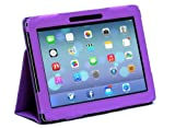 Navitech Flip Stand Case / Cover With Handstrap for 10.1 inch Tablets (Acer Iconia Tab W500 / A700, Purple)