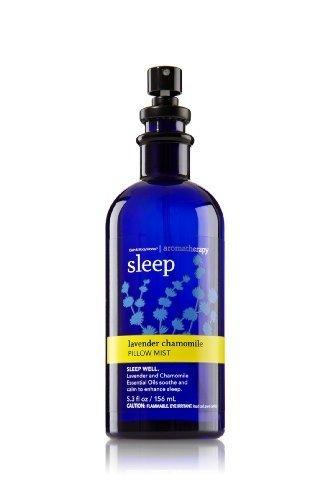 Bath & Body Works Aromatherapy Lavender Chamomile Sleep Pillow Mist 5.3 Oz Aromatherapy Bath Lavender