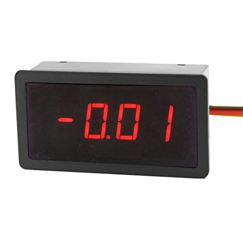 Dc10A/75Mv Type Red Led Display Wired Current Test Digital Dc Ammeter