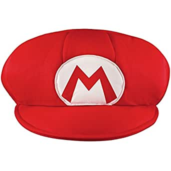 Disguise Men's Nintendo Super Mario Bros. Mario Adult Hat Costume